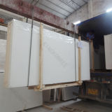 2cm Gletscher-weißer Caesarstone ausgeführter Quarz-Stein (Q1702272)