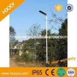 Éclairage extérieur solaire Integrated de bonne qualité de l'éclairage DEL