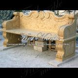 De marmeren Bank van het Graniet van de Steen & Gouden Stoel mbt-144 van de Woestijn van de Lijst