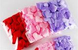 approvisionnements décoratifs de confettis de noce de coeur du tissu 50PCS
