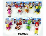 """Muñeca del plástico determinado 3.5-4 de los juguetes del perro de juguetes de los cabritos de la novedad """" (9279143)"""