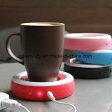 Грелка кружки чашки USB кофеего с СИД и переключателем