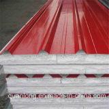 Colorare le lamiere sottili d'acciaio ondulate rivestite del tetto