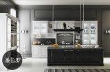 Acabado moderno acabado muebles de cocina gabinetes de cocina (zz-056)