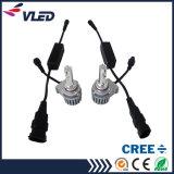 Aluminio de alta calidad del CREE LED de la linterna para los coches H8 H16 Auto Parts
