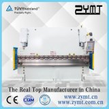 Dobladora hidráulica (wc67k -100t * 2500)/freno de la prensa hidráulica/máquina plegable plateada de metal