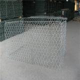 川岸によってGabionのGabionのGabion補強されるボックスかバスケットまたは網