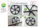 La rotella di alluminio per la bici motorizzata, gas ha motorizzato la bicicletta