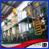 máquina crua da refinaria de petróleo da palma da pequena escala 1-10t