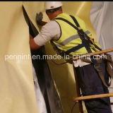 Waterdichte Membraan van pvc van de Kleur van Doube het Gele Zwarte voor de Werken van de Tunnel