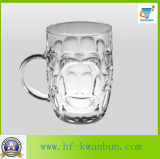 Качество стеклянной чашки установленное хорошее с стеклоизделием Kb-Hn086 ручки