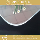 el vidrio endurecido 0.5m m de la tolerancia de 3-12m m con los bordes de Pencile/pulió Edegs/los bordes redondos