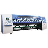 Impresora solvente con la cabeza de impresora 42pl/14pl los 3.2m de Konica 1024 1440dpi