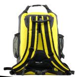 新しいデザインPVC 100%防水乾燥した袋のバックパックの倍ストラップ