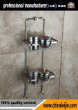 304/316 panier de savon d'acier inoxydable de salle de bains