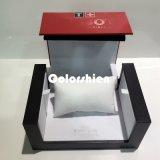 Alto rectángulo de regalo del embalaje del papel del reloj de la calidad del rectángulo
