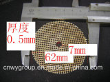 Alto acoplamiento del filtro de la fibra de vidrio de la silicona para el bastidor