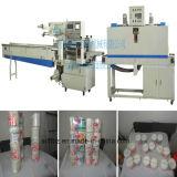 Máquina automática del envoltorio retractor del calor del palillo del algodón del precio barato