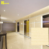 Glossy super cinzento Nano Ceramic Polished Lobby Floor Tile com GV, CE
