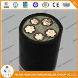 XLPE a isolé le câble 600/1000V engainé par PVC