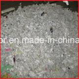 De dubbele Plastic Flessen van Schachten/Zakken/de Geweven Zakken/Ontvezelmachine van de Doek van het Afval