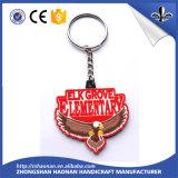 Förderndes Produkt-Metall Schlüsselring kundenspezifisches Keychain mit Firmenzeichen