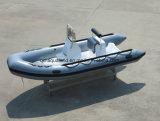 Barco de motor de la costilla de Aqualand 16feet los 4.7m/barco de pesca inflable rígido (rib470A)