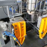プラスチックびんのための二重/単一ステーションの放出のブロー形成機械