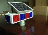 Luz de advertência de piscamento solar do farol intermitente da estrada do diodo emissor de luz da segurança de estrada