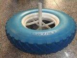 프랑스 모형 Wb6400 외바퀴 손수레를 위한 16 인치 압축 공기를 넣은 바퀴
