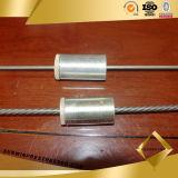 Barriles de anclaje con las cuñas abiertas para Wire PC 5mm