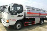 5 тонн JAC дозаправляют топливозаправщик 5000 масляного бака литров тележки перехода