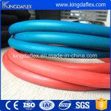 Manguito de goma industrial flexible trenzado de la soldadura del oxígeno del manguito de la fibra