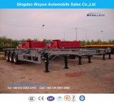 3개의 차축 콘테이너 골격 실용적인 트레일러 또는 트럭 트레일러