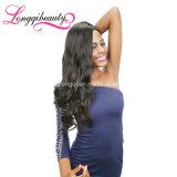 Человеческие волосы дешево 100% бразильянина выдвижений объемной волны Remy