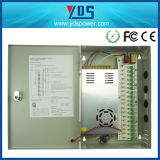 12V 30A 18CH 360W Switching Power Supply Box per LED/CCTV Camera