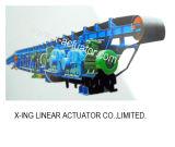 Conveyor Roller Idler Rodillo de goma en forma de diamante