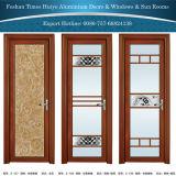 Porte en verre en aluminium chinoise de tissu pour rideaux de panneau de prix usine de Foshan de marque du principal 10
