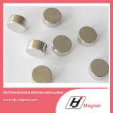 Magneet van de Schijf van het Neodymium N35-52 van de hoge Macht de Sterke met ISO9001 Ts16949