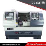 고품질 수평한 편평한 침대 금속 CNC 도는 선반 기계 가격 Ck6136A-2