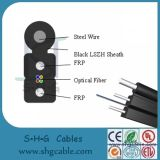 Todos os dielétricos 1-4 Fibers Drop FTTH Fiber Optic Cable (GJYXFCH)