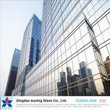 Bronce/vidrio reflexivo del verde/del color para la pared/el vidrio del edificio