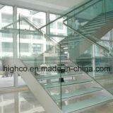 De muur zet Steun voor de Balustrade en de Leuning van het Traliewerk van het Glas op