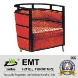 Chaise en bois de seul de conception hôtel lumineux de couleur (EMT-HC65)