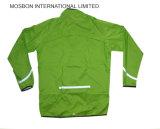 Высокая отражательная водоустойчивая куртка дождя PU с капюшоном с Rainsuit