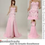 2014 robes de mariage rose Nouveau longue soirée de bal Parti