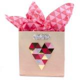 Bolso de papel festivo del regalo, bolso de papel del regalo, bolso del regalo del papel de arte, bolso de compras de papel, bolsa de papel de Kraft