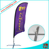 Indicateur de stand de polyester/drapeau extérieurs clavette de plage