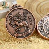 顧客用記念品の使用の星座3Dメダル