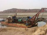 Sand-Strahlen-Absaugung-grabendes Boot für Sand-Grube